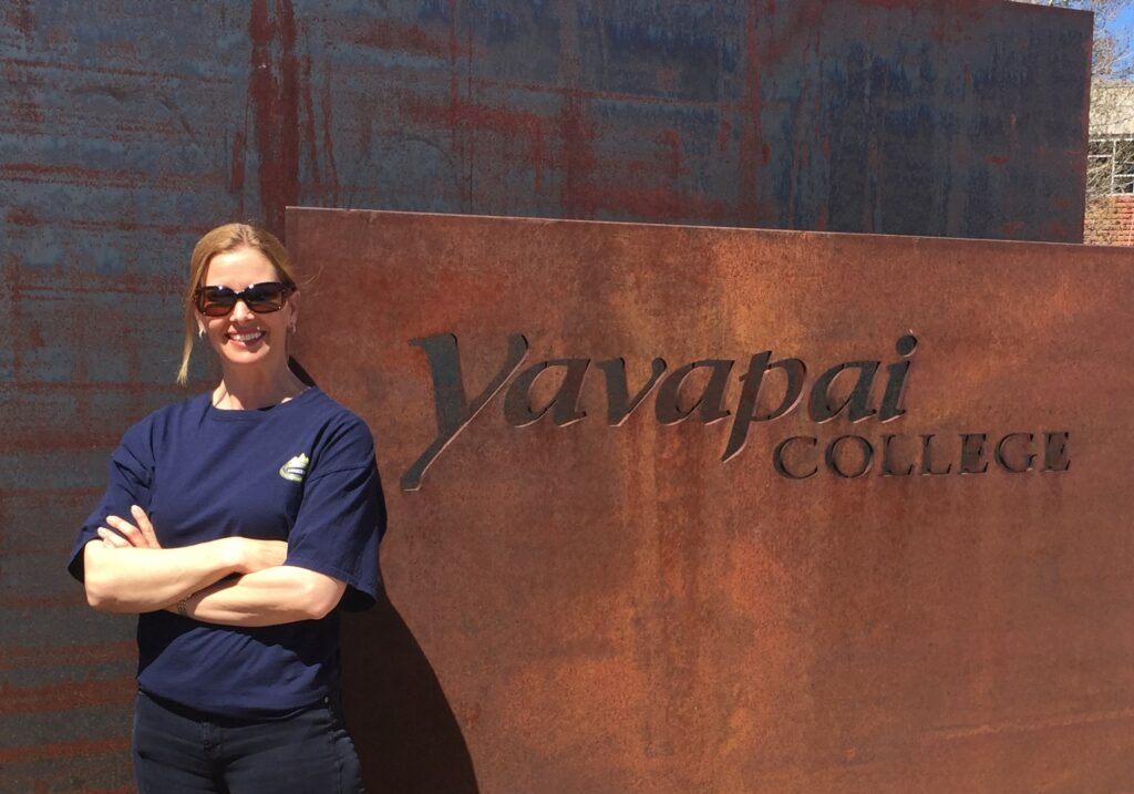 Charlotte Dunnigan, Yavapai College, Prescott AZ